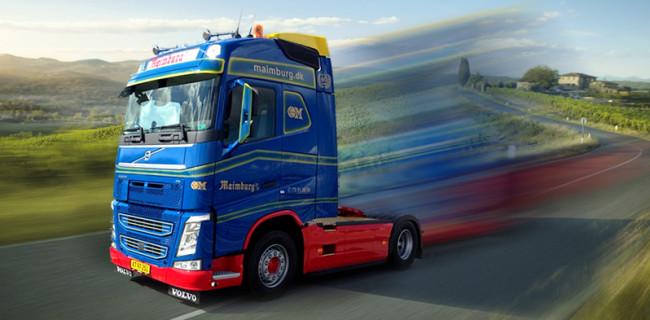 Ny Volvo lastbil