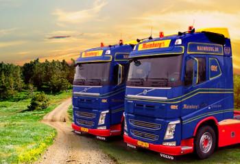 2 nye lastbiler til Maimburg Servicecenter